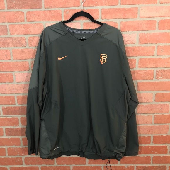 Nike Other - HOST PICK!!! SF Giants Nike Dry Fit Sweatshirt.